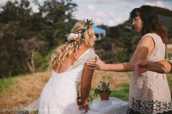Bride and Celebrant
